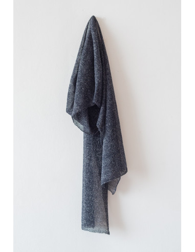 Boy - Linen scarf - Black