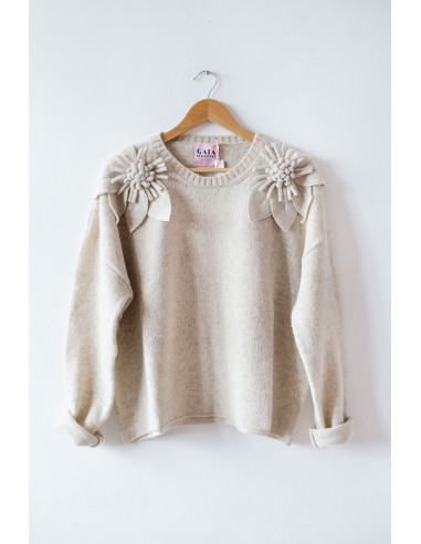 Bloom Sweater - Natural - Size 2