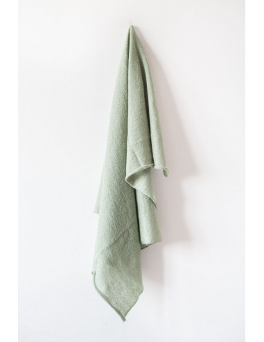 Forever - Square Mohair scarf - Sage